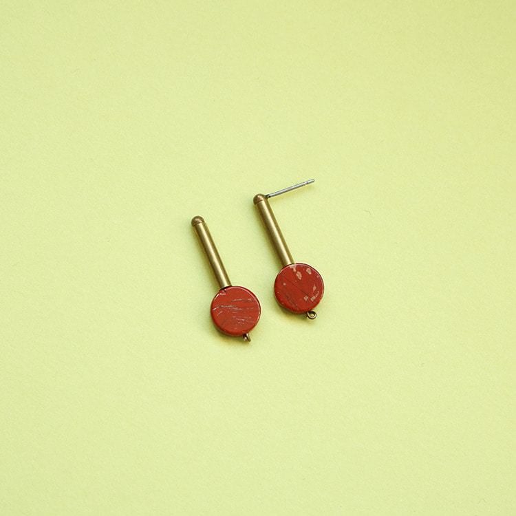 Remember,me Earring002/Brick