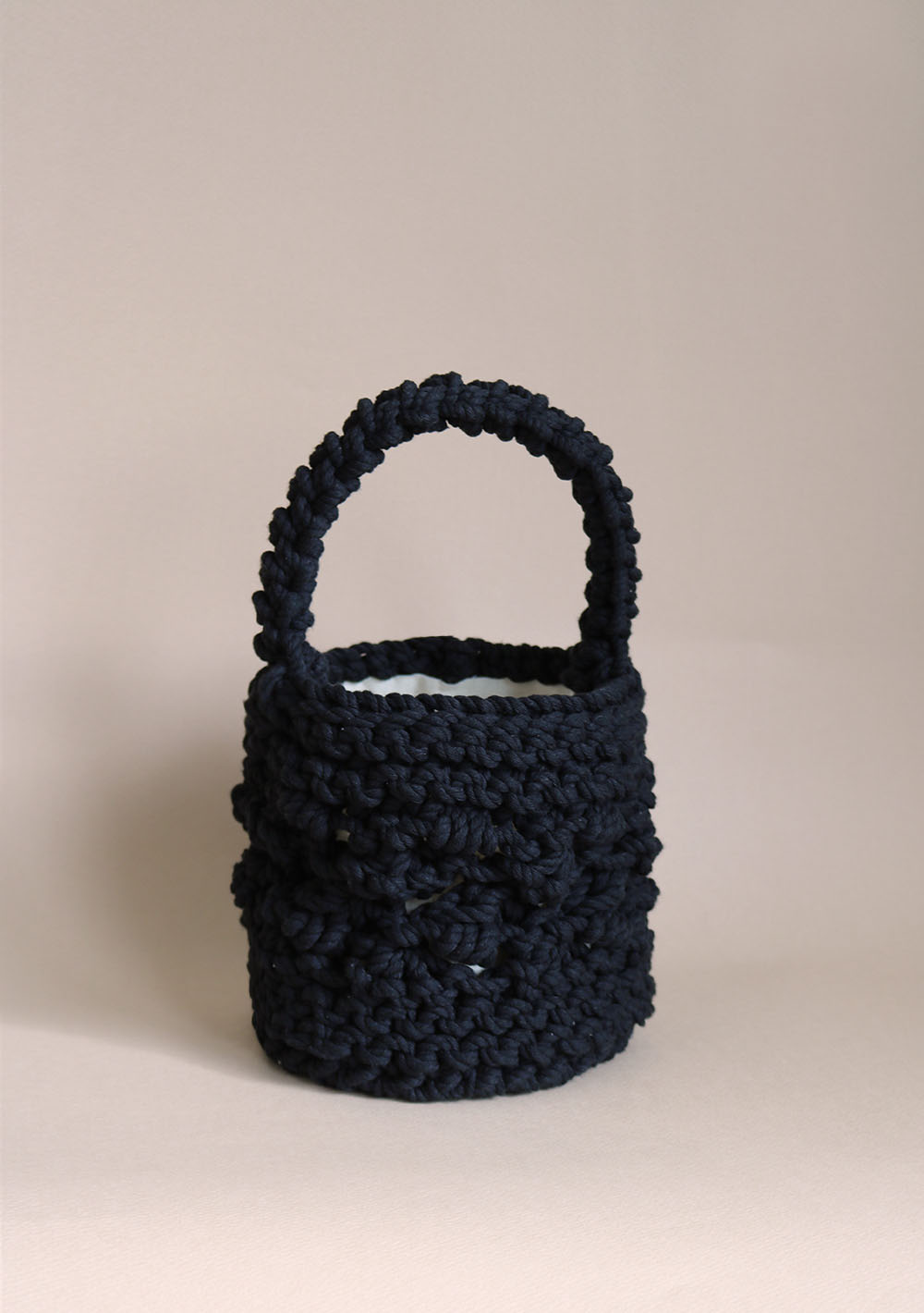 Handmade Knitting Bag-Winter 01