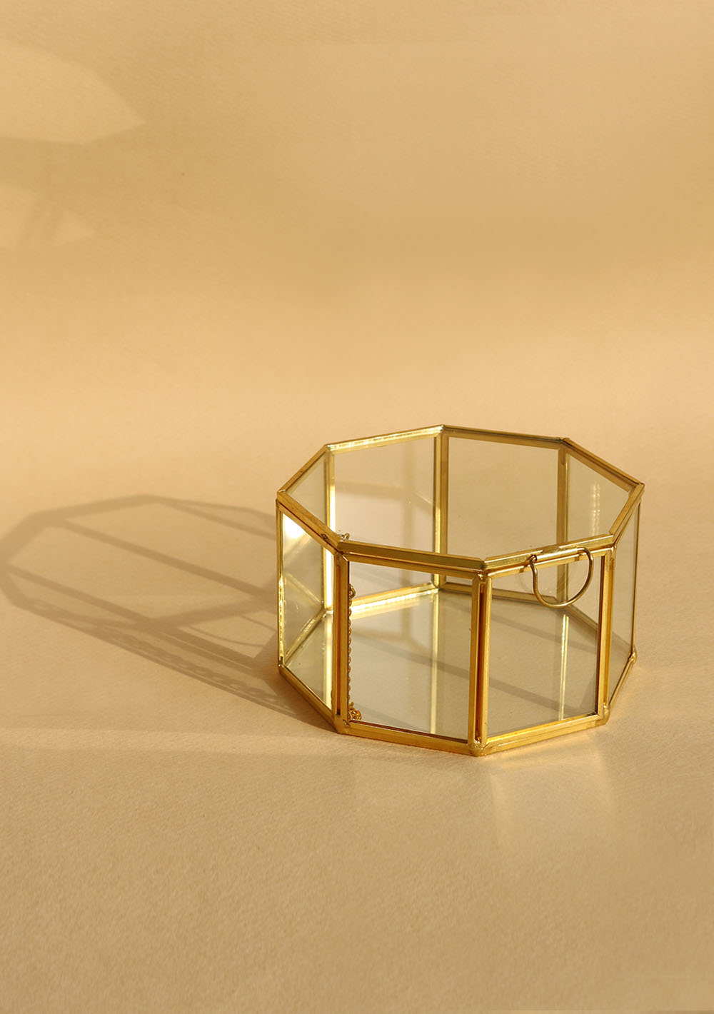 Brass & Glass Box - octagon• 재입고 •
