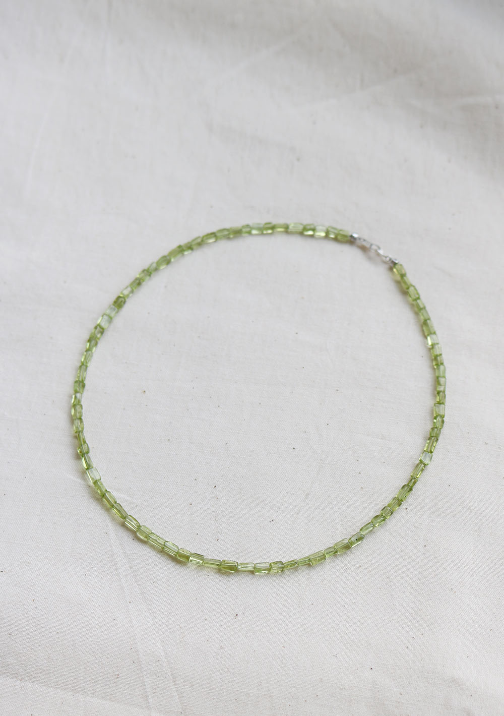 "Remember,me Necklace012 ""Peridot"""