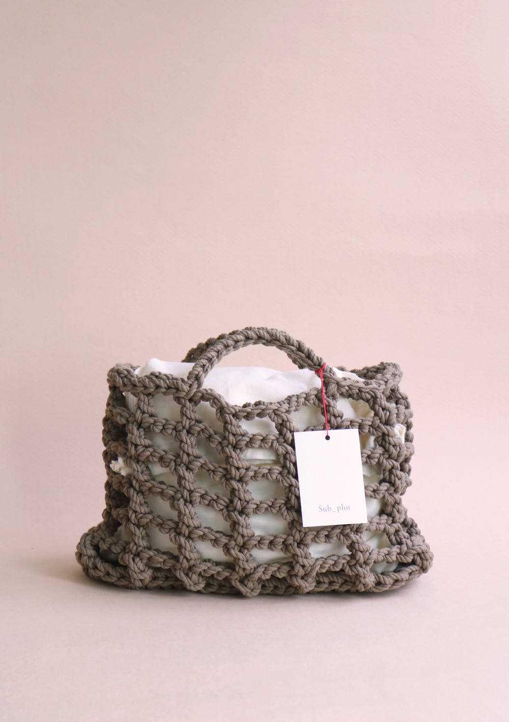 Subplot_crochet net bag_ 01 brown