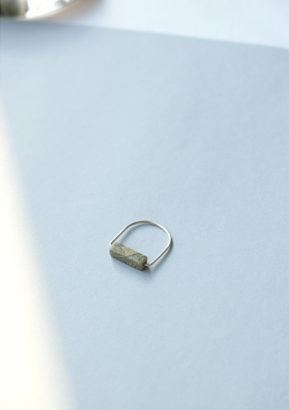 "Remember,me Ring009 ""skyblue&beige"""
