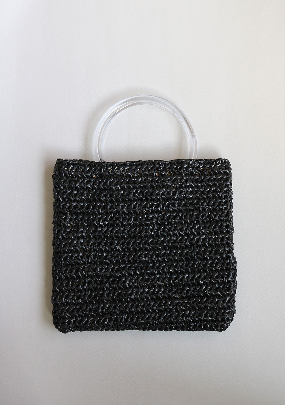 eji plot_ raffia bag_01 clear black