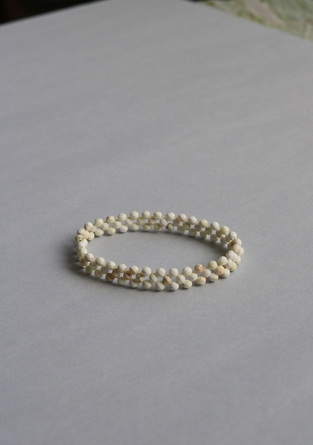 "Remember,me Bracelet007 ""pattern02-white"""