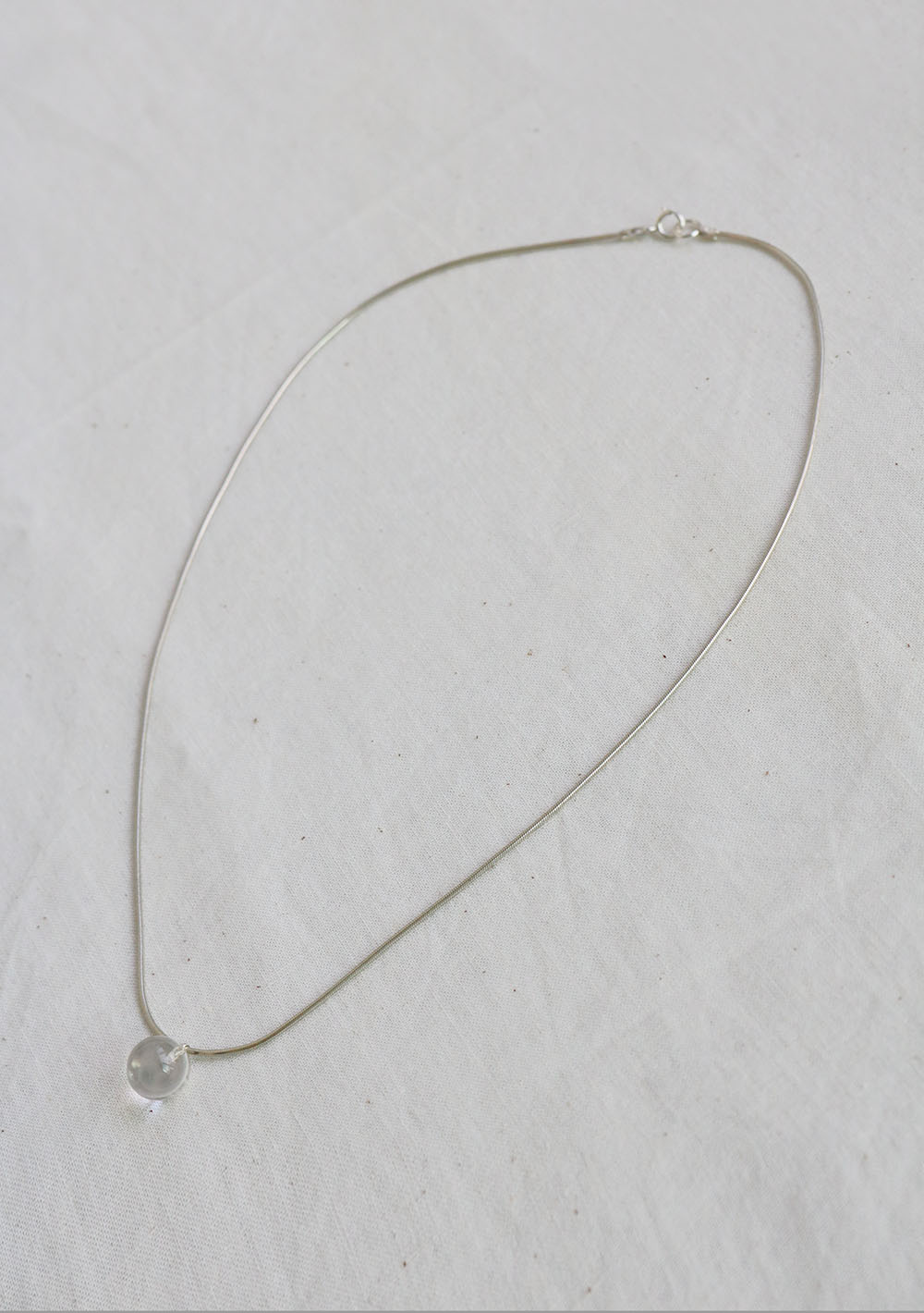 "Remember,me Necklace014 ""빗 방 울"""